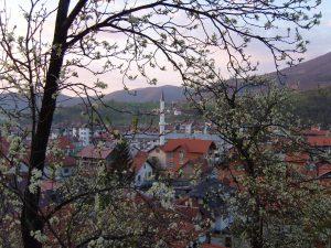 Gornji Vakuf Uskoplje, devided town